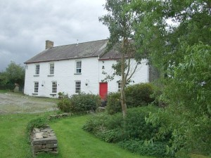 Ceredigion farmhouse