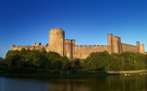 Pembroke Castle - location for two film shoots recently
