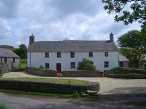 Typical Pembrokeshire farmhouse