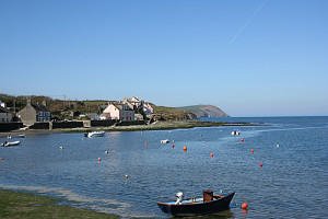 The coastal village of Newport in North Pembrokeshire is very popular.
