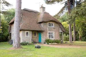 Rent a cottage on a private estate