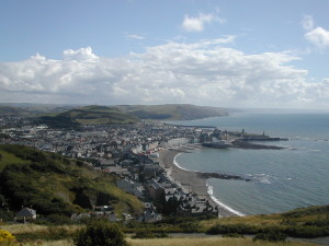 "Aberystwyth - officially a ""Great Town"""