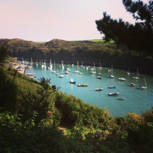 Solva in the Pembrokeshire National Park