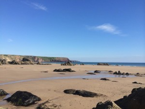 One of Pembrokeshire's spectacular beaches