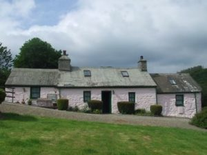 A typical Pembrokeshire cottage much sought after as a second home