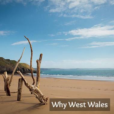 Beach in Pembrokeshire, West Wales